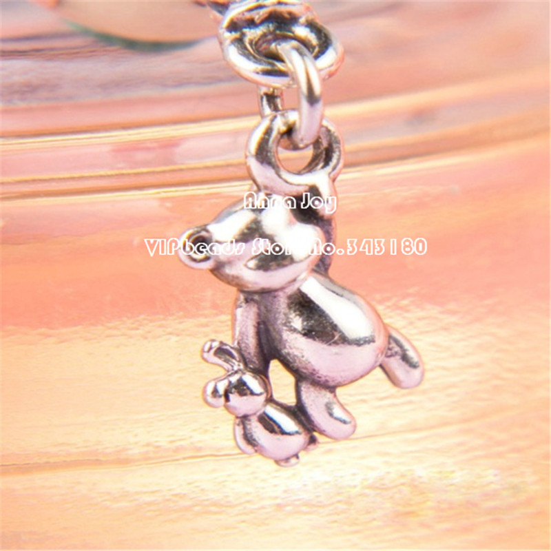 Abby Jewelry 925 Sterling Silver Mouse /& Balloon Enamel and CZ Dangle Pendant Charm Bead Fit European Dora DIY Bracelets Necklaces