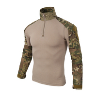 2017 Men Male Camouflage T Shirts Army Combat Tactical T Shirt Military Men Long Sleeve