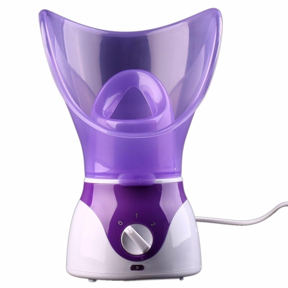 110-240 v 130 w facial rosto vapor profunda névoa de limpeza pulverizador de vapor spa pele vaporizador promover a circulação sanguínea eua plug