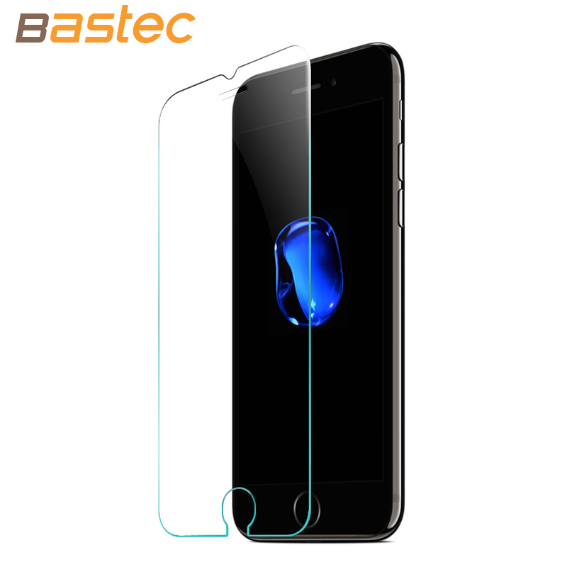 [2-Pack] Bastec HD Clear <font><b>Protective</b></font> <font><b>Film</b></font> 0.26mm 2.5D <font><b>Curved</b></font> Edge <font><b>Tempered</b></font> <font><b>Glass</b></font> Screen Protector <font><b>for</b></font> iPhone 7 6 6s Plus 5 5s SE