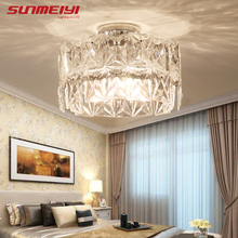 Creative Crystal Ceiling Lights For Corridor Bedroom Dining room Cafe Hall Home Lighting Modern LED Crystal Living room Lamp