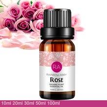 100% Pure 10 mlnew роза эфирное масло отбеливание против старения морщин Расслабление пигментации удалить beriberi Роза масло
