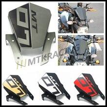 Для Yamaha MT-07 MT07 2013 2014 2015 Мото-Алюминиевый Мотоцикл Лобовое Стекло Лобовое стекло