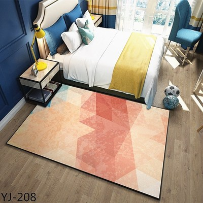 160X230CM Modern Brief Carpets For Living Room Home Bedroom Rugs And Carpets Coffee Table Area Rug Polyester Children Play Mat in Carpet from Home Garden