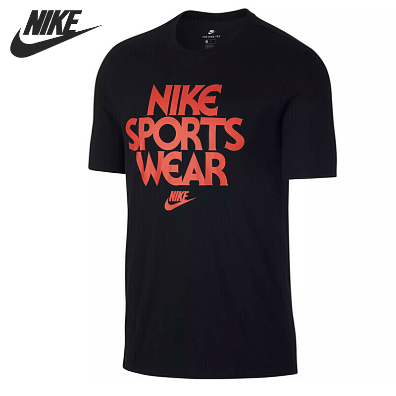 Original New Arrival  NIKE AS M NSW TEE CNCPT BLUE Men's T-shirts short sleeve Sportswear