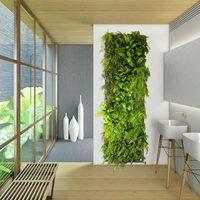 7 кашпо С Карманами Настенный вертикальный подвесной садовый завод для хранения двора домашний декор UD88