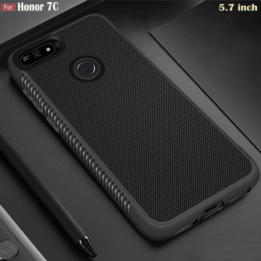 JFVNSUN Case Armor-Protective-Case 7c-Cover Huawei Honor Anti-Slip Matte AUM-L41 Silicone