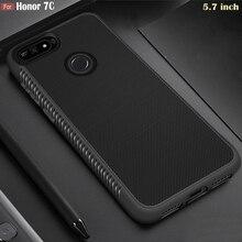 "JFVNSUN Huawei Honor 7C 5.7 ""กรณีAUM L41 SLIM Anti Slip Soft TPUซิลิโคนป้องกันกรณีสำหรับHuawei honor 7Cฝาครอบ"
