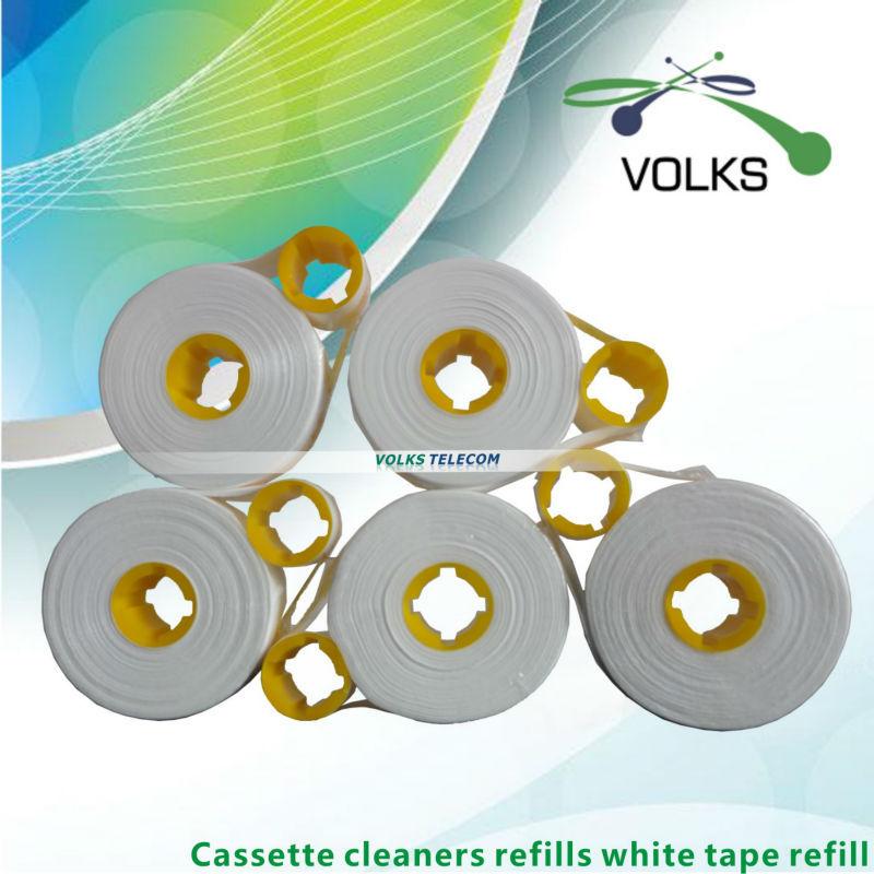 Cassette de nettoyage recharges ruban blanc rechargeCassette de nettoyage recharges ruban blanc recharge