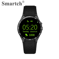 3G Bluetooth Smart Watch KW88 WiFi GPS SIM Card Support Round Screen Full Display Android 5