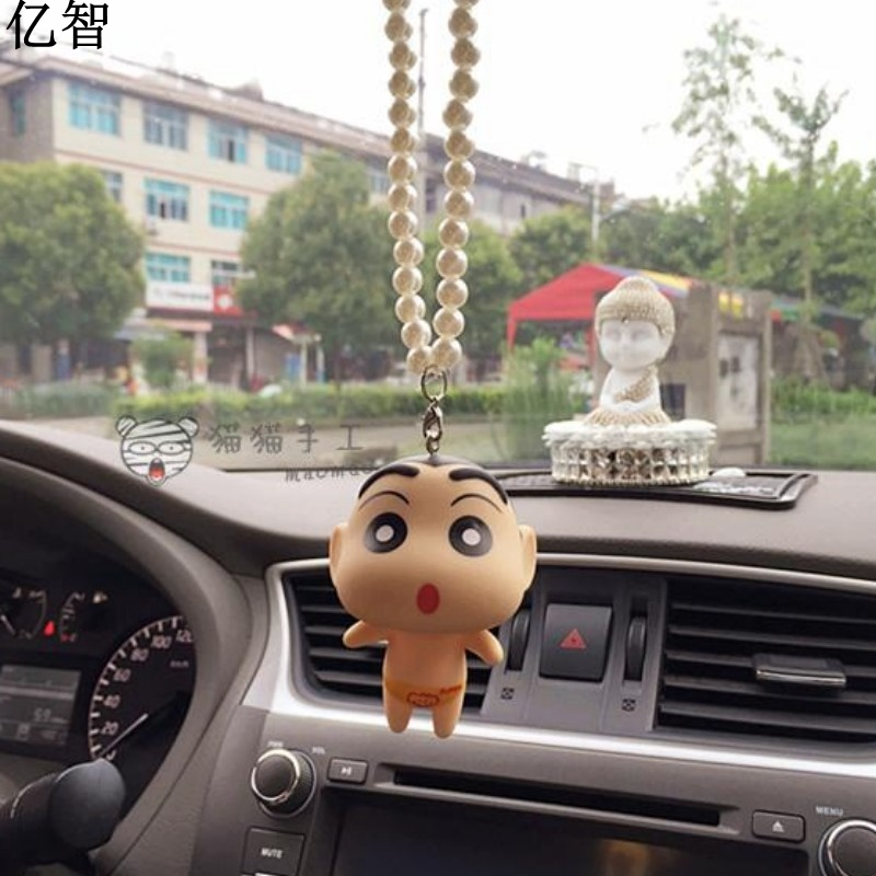 YiZhi Car Cool Japan Cartoon Doll Ornaments Creative And Cool Styling  Rearview Mirror Pendant Gift For Friend In Ornaments From Automobiles U0026  Motorcycles On ...