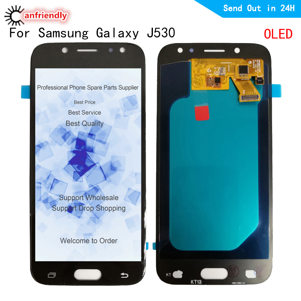 "5.2"" For Samsung Galaxy J5 2017 J530 J530F J530Y/DS J530FM J530G J5 Pro 2017 OLED LCD Display Touch Screen Digitizer Assembly"