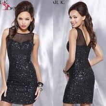Luxus Perlen Cocktailkleider 2016 Durchsichtig Sleeveless Mantel Kleid Mit Pailletten Wulstige Formale Party Kleider