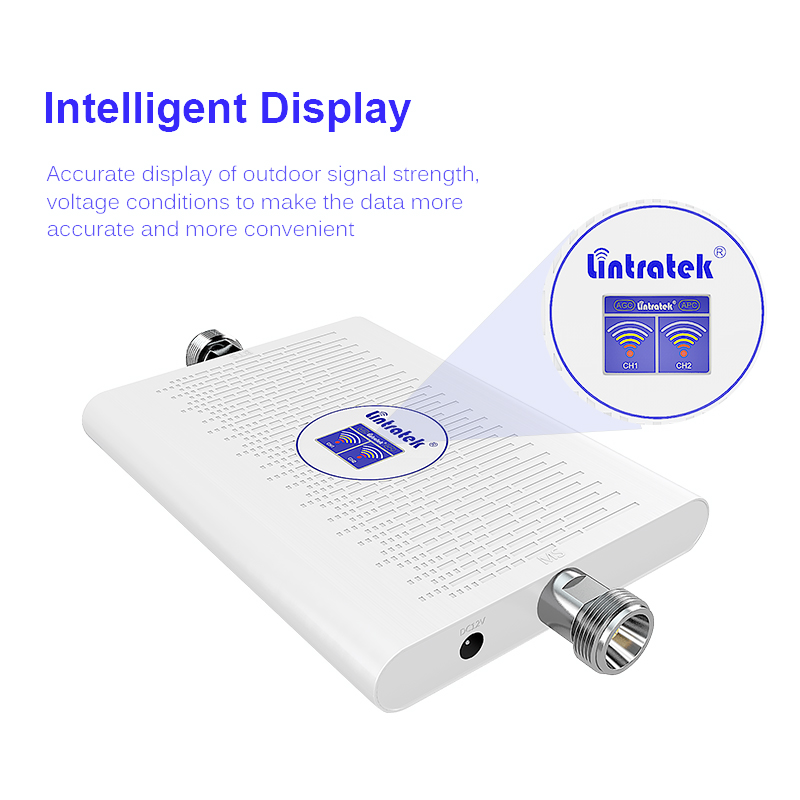 Image 4 - Lintratek 2019 NEW 4G Repeater 3G Booster 2100 1800 Mhz 70dB AGC Dual Band Ampli 4G LTE 1800Mhz DCS 3G 2100Mhz WCDMA Amplifier-in Signal Boosters from Cellphones & Telecommunications