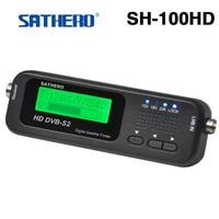 2 sztuk/partia Oryginalny Sathero SH-100HD Pocket Digital Satellite Finder Miernik Satelitarny HD Sat Finder Sygnału z DVB-S2 USB 2.0