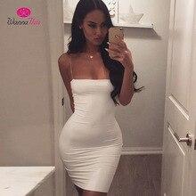 Sleeveless Backless Strap Bandage Dress