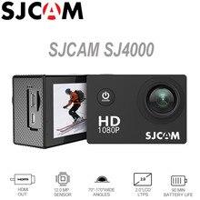 Действие Камера SJCAM SJ4000 2.0 дюймов Экран Дайвинг 30 м Водонепроницаемый HD 1080 P шлем мини видеокамеры оригинальный SJ 4000 cam Спорт DV