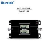 Lintratek 4G Signal Booster 900 1800 Repeater GSM 2G 4G Verstärker Dual Band Handy Signal Repeater GSM 900 LTE 1800 Band 3|Signal-Booster|   -