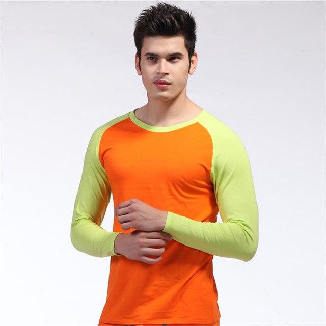 Новое Прибытие Полный Рукав Сна Топы Для Мужчины Мужчины Сексуальная Одежда С Длинным Рукавом Сна Рубашка Термобелье пижама