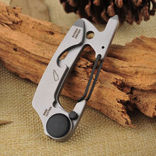 2018 NEW Stainless Steel Key Chain Multi Tool EDC kit Carabiner Keychain Clip Silver Hiking Climbing Hanger Buckle Outdoor Tools цена