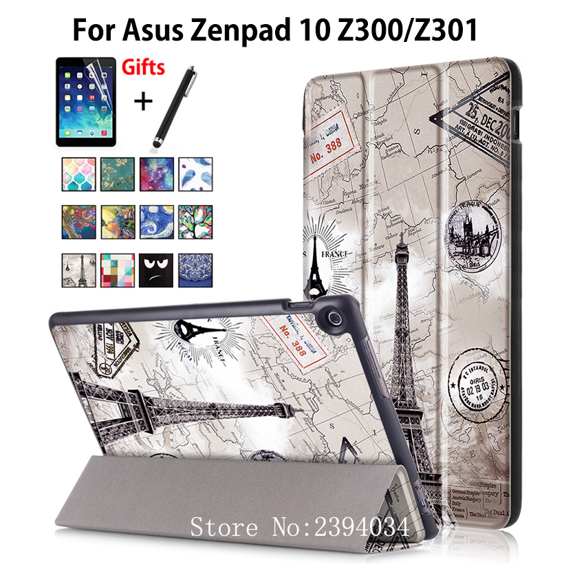 Case For ASUS Zenpad 10 Z301MLF Z301ML Z301 10 1 Cover Funda Stand Tablet Case For