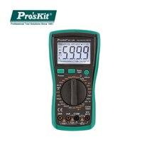 Po'sKit MT 1280 C 高精度自動デジタル電子マルチメータ DC AC 電圧電流容量抵抗テスター -