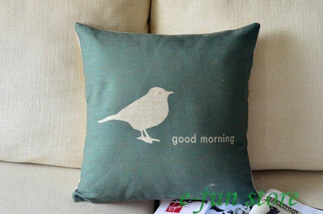 Good Morning Chinese Express : Aliexpress buy linen cotton vintage retro bird