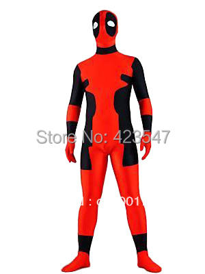 Newest Hot Deadpool Spandex Halloween Party Cosplay Costumes