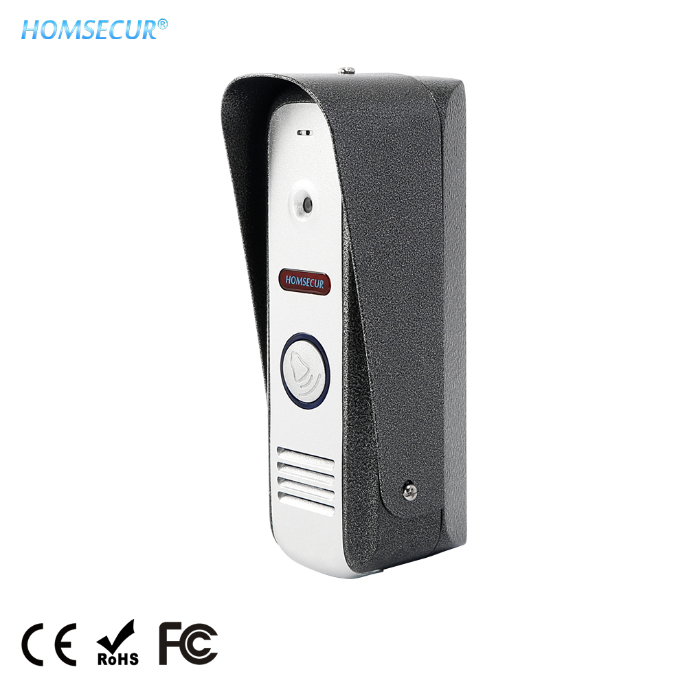 HOMSECUR Video Door Phone System Outdoor CMOS Night Vision Camera Unit BC021HD-S 1.3MP for HDK Series Video Door Intercom System