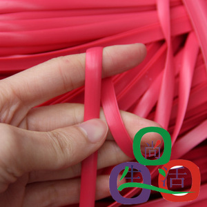 Image 3 - 500 g flat synthetic rattan weaving material plastic rattan for knit and repair chair table synthetic rattan tavolo rattan