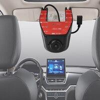 Full HD 1080 P Auto DVR Ingebouwde WiFi 160 Graden Groothoek Dashboard Camera, voertuig Dash Cam met G Sensor, Loop Recording df