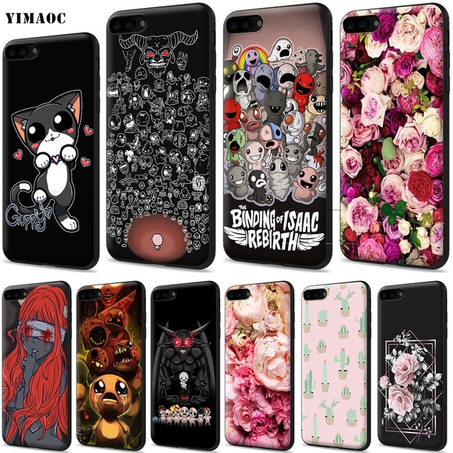 10f99a19345443 YIMAOC The binding of isaac Afterbirth Soft Silicone Case for iPhone XS Max  XR X 8 7 6 6S Plus 5 5s se