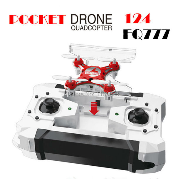 Hot FQ777-124 Mini RC helicopter Pocket Drone 4CH 6Axis Gyro Quadcopter With Switchable Controller RTF RC helicopter