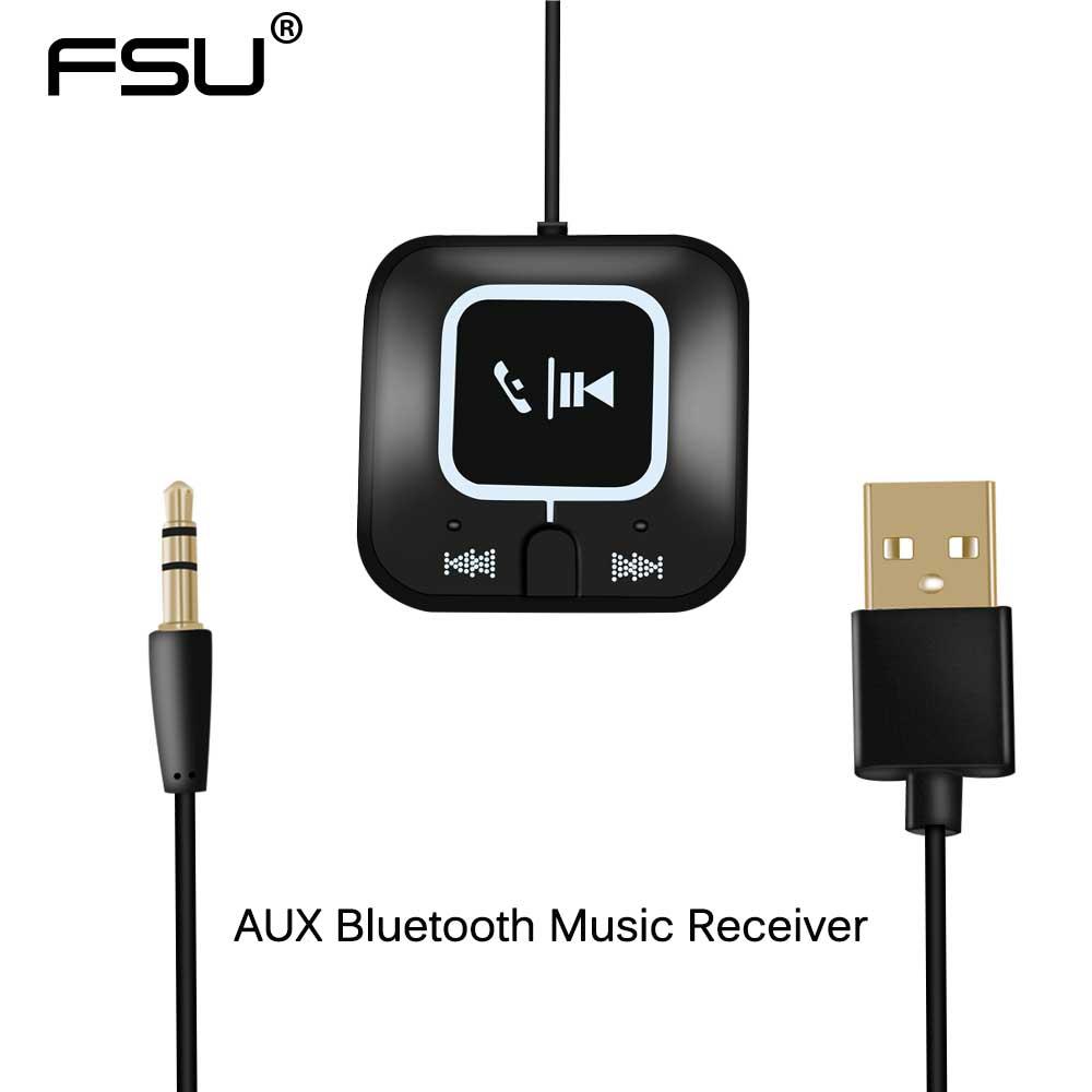 Unterhaltungselektronik Fsu 4,0 Drahtlose Bluetooth Music Receiver 3,5mm Aux Empfänger Audio Stereo Musik Adapter Für Auto Aux Empfänger Zu Verkaufen Funkadapter