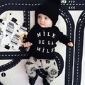 Children's Wear Clothing New 2016 Spring Autumn Long Sleeved Cotton Pants + Tops Baby Infant Set for Boys Toddler Clothes BBS052