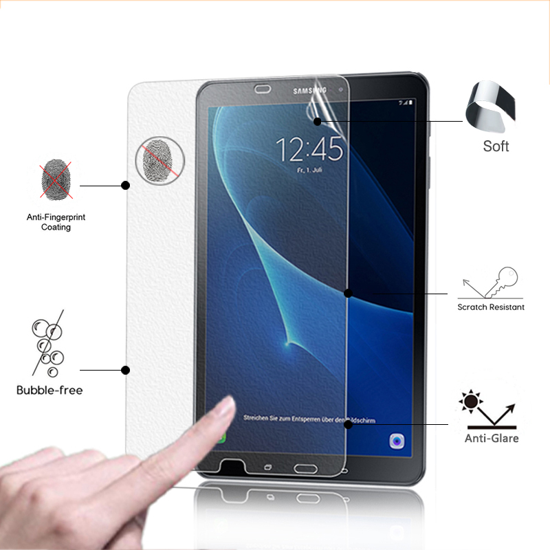 BEST Front Screen Protector Film For Samsung Galaxy Tab A 10.1 2016 T580 T585 10.1 tablet Anti-Glare Matte Protective Film protective matte frosted screen protector film for samsung galaxy note 3 n9000 transparent 2 pcs
