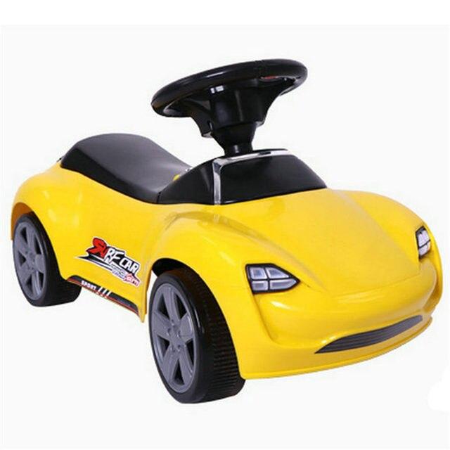 Kids Four Wheel Music Silent Wheel Children Ride On Car Toys For