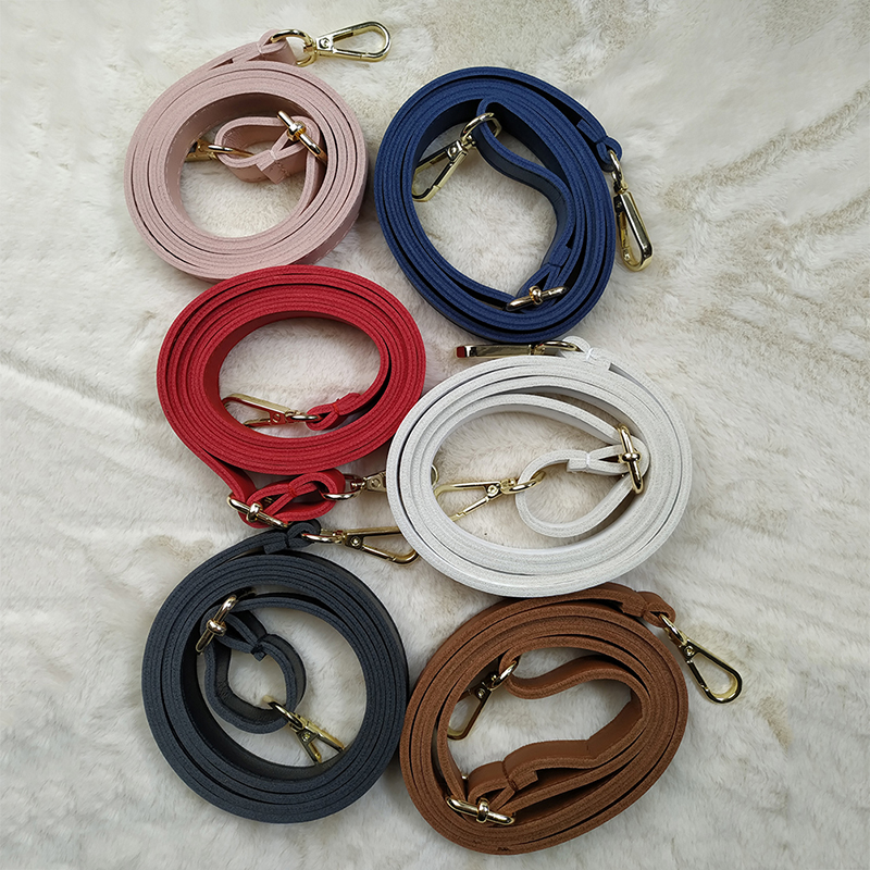 1PCS Women Lady Men Fashion Adjustable Long PU Leather Bag Strap Belt Replacement Shoulder Cross Body Bag Band Accessories