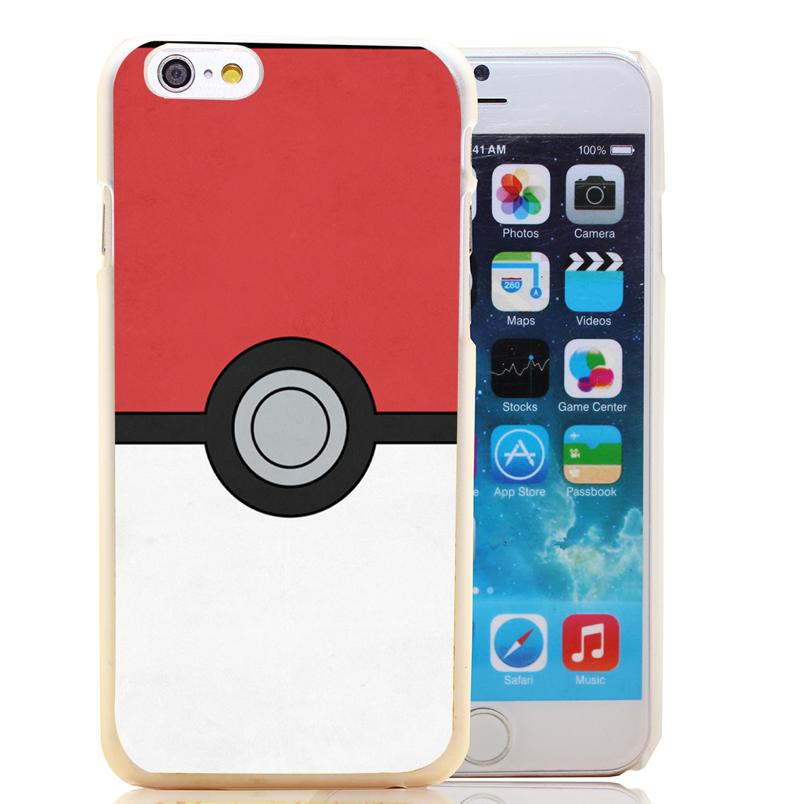 1079-HOQE minimal pokeball poster hellip Transparent Hard Case Cover for iPhone 6 6s plus 5 5s 5c 4 4s Phone Cases