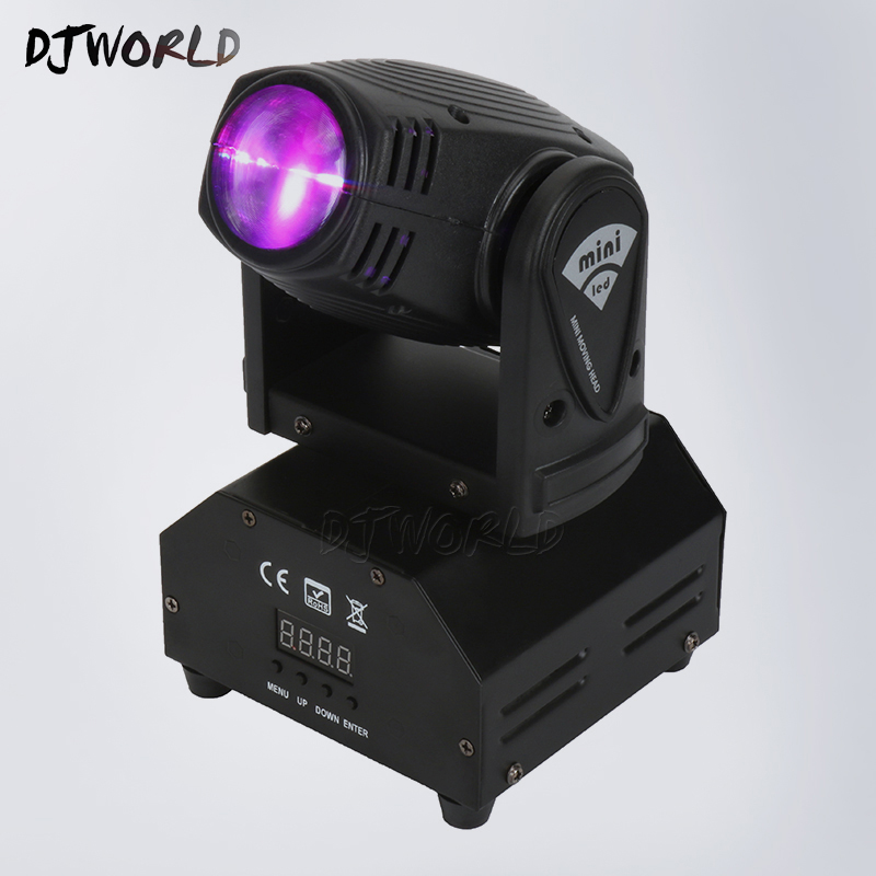 Led Beam Moving Head Light Mini LED Spot Beam 10W Lighting Party Wedding DJ Equipment