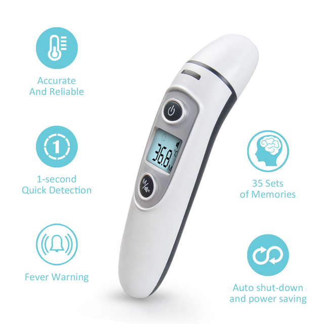 Baby Infrared LCD Display Thermometers