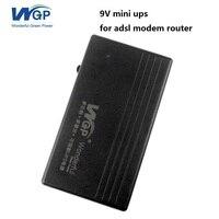 Batteria al litio alimentato mini ups alimentazione 9 V 1A dispositivi di rete ups per zte modem router adsl wireless a internet