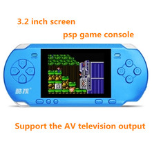 2017 Newest Handheld Game Console 3 2 inch Game Machine CoolBaby Built 318 Games Classic Game