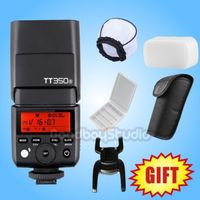 Godox TT350 TT350S TT350N TT350C TT350O GN36 2,4G ttl HSS мини Вспышка Speedlite для sony Nikon Canon Olympus беззеркальная камера