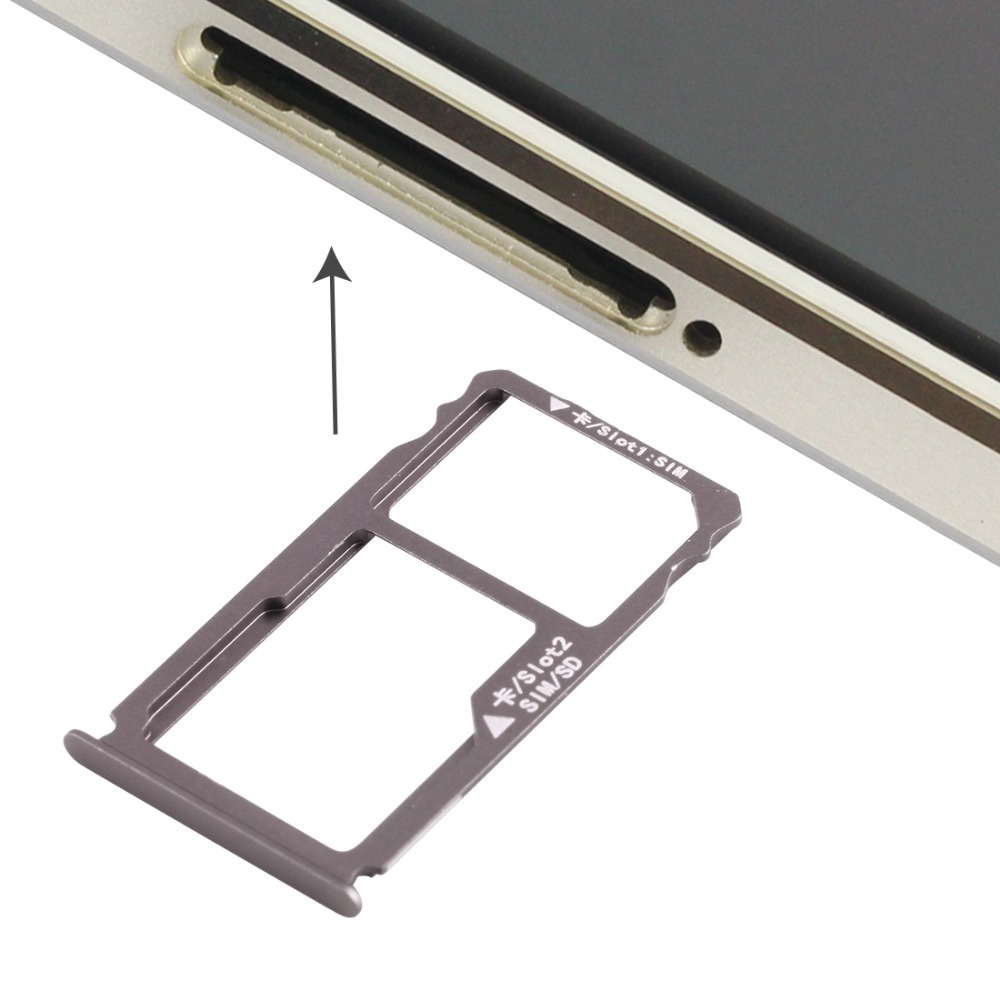 Card Tray + Nano SIM / Micro SD Card Tray for Huawei Mate S Nano SIM ...