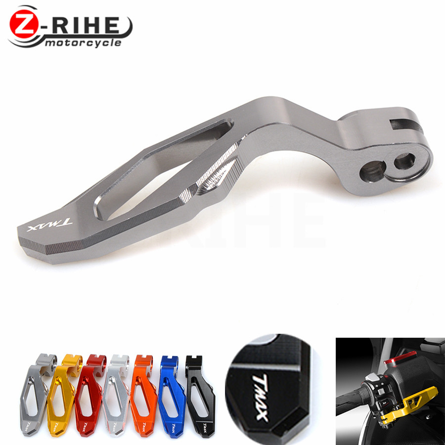 for 6 Colors High Quality Motorcycle CNC Aluminum Parking Brake Lever for Yamaha TMAX 500 2008-2011 T-MAX 530 TMAX 530 2012-2014