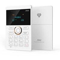 AIEK E1 1 Inch Mini Cell Card Phone Slim Thin Phone Student Version OLED GSM FM
