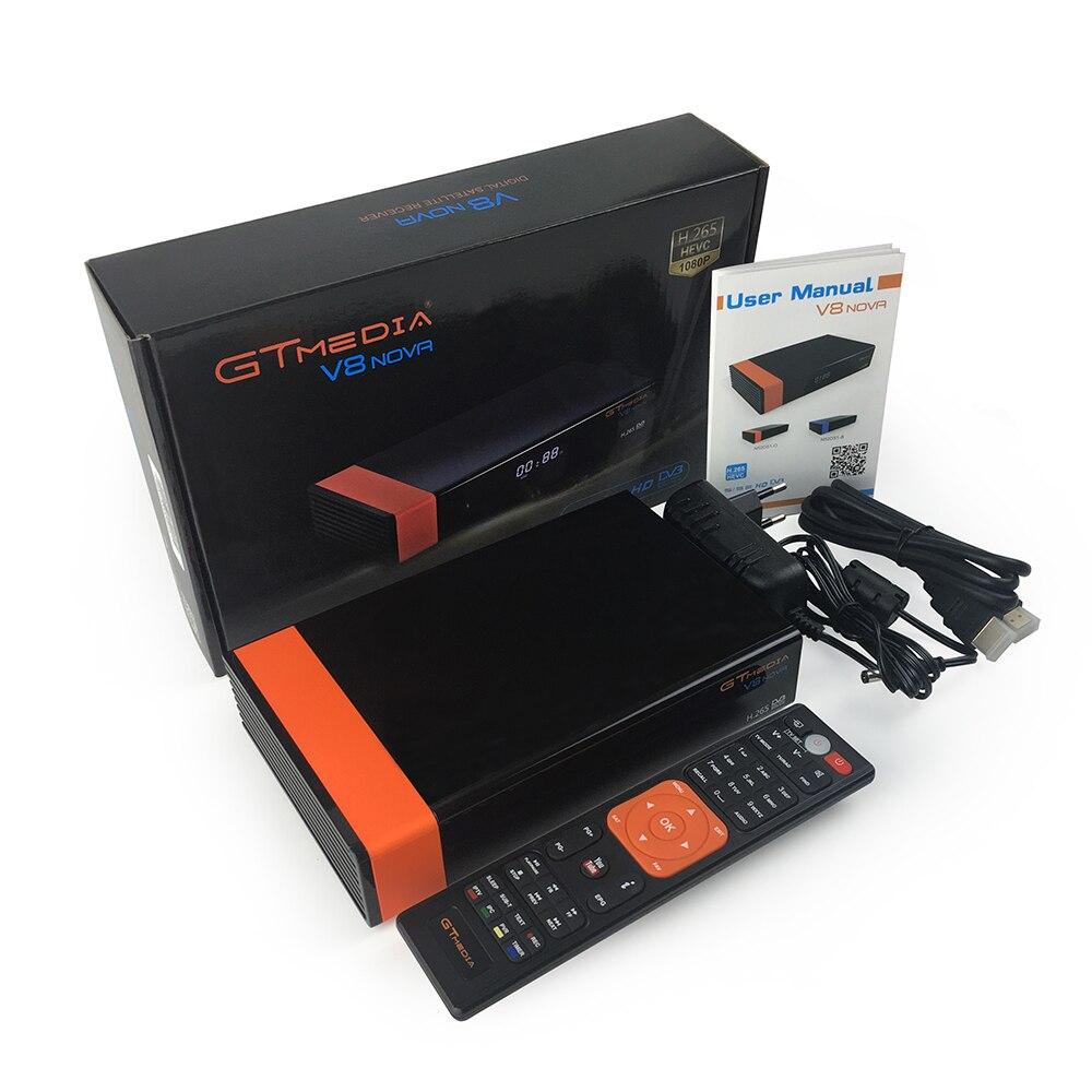 5PCS Lot Gtmedia V8 NOVA Set Top box DVB S2 Built in WIFI Support HD 265