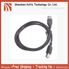 KUYiA Free Shipping USB cable 2.0 1.5meter High speed Printer Cable Black for Canon Epson+wholesale