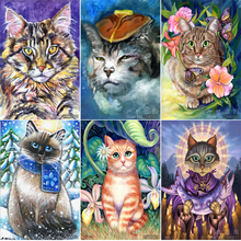 5D DIY Diamond Painting Animal Embroidery Cross Stitch Rhinestone Mosaic Flowers and Butterfly
